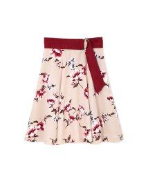 PROPORTION BODY DRESSING/[TGC着用]ピーチヴィンテージフラワーベルト付フレアースカート/500435961