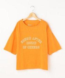 Ray Cassin /ピグメント加工ロゴTシャツ/500442801