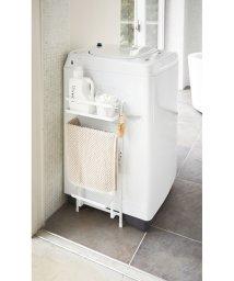 tower/洗濯機横マグネット収納ラック タワー ホワイト/500418723