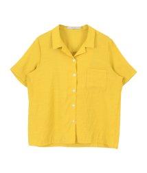 titivate/ハーフスリーブオープンカラーシャツ/500426022