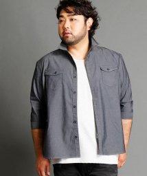 HIDEAWAYS NICOLE L/ストレッチツイルシャツ/500444370