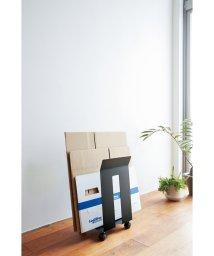 YAMAZAKI/ダンボール&紙袋ストッカー フレーム ブラック/500418897