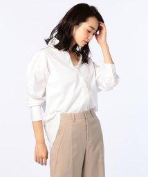 NOLLEY'S/バックスリットレギュラーカラーシャツ/500441085