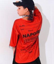 ANAP GiRL/チュール重ねTシャツ/500443157