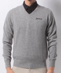 SRIXON/カシミヤセーター(17FW)/DE0030887