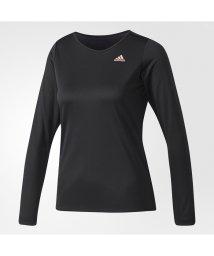 adidas/アディダス/レディス/W D2Mトレーニング定番ロゴワンポイント長袖Tシャツ/500452240