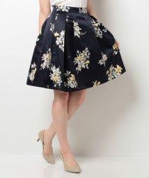 Noela/オリジナルリリーブーケ柄スカート/500452151