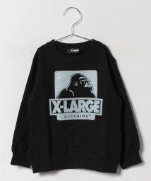 XLARGE KIDS/OG LS CNスウェット/500447707
