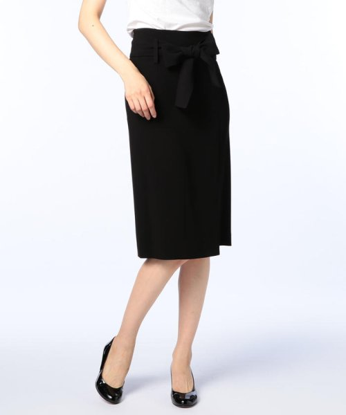 NOLLEY'S sophi(ノーリーズソフィー)/バックサテンウエストリボンスカート/7-0030-5-06-001