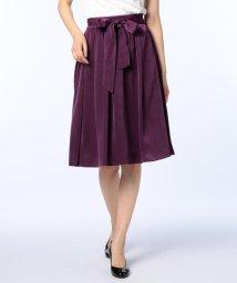 NOLLEY'S/ピーチサテンリボン付スカート/500450541