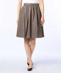 NOLLEY'S/タフタタックギャザースカート/500450543