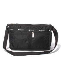 LeSportsac/DELUXE SHOULDER SATCHEL オニキス/LS0000020