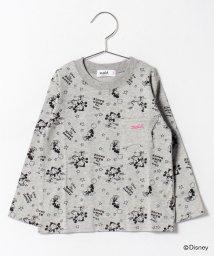 X-girl Stages/【セットアップ対応商品】Disneyコラボ長袖Tシャツ/500440312