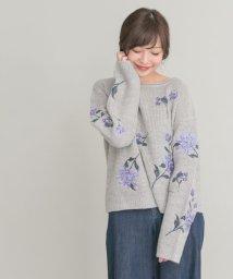 URBAN RESEARCH ROSSO/【予約】刺繍ニットプルオーバー/500465393