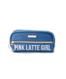 PINK-latte/ハートフープロゴポーチ/500467843