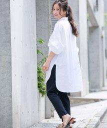 Sylph/星刺繍コットンシャツ【by yumi】/500461853