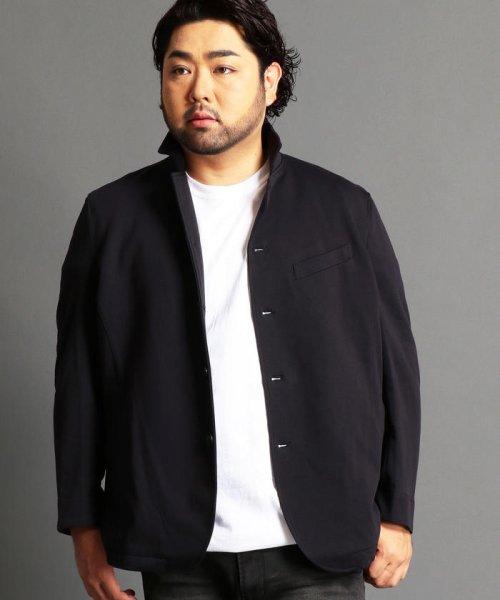 HIDEAWAYS NICOLE L(ハイダウェイニコル(大きいサイズ))/スタンドカラージャケット/7404-9902