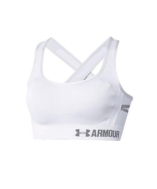 1a3c006e00 Under Armour Womens Threadborne Crossback Solid Sports Bra Under Armour  Apparel 1307932-P