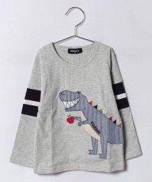 kladskap/リンゴザウルス長袖Tシャツ/500459094