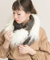 URBAN RESEARCH ROSSO/mix fur snood/500477805