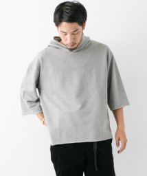 URBAN RESEARCH/【WAREHOUSE】カットオフ7分袖P/Oパーカー/500471138