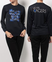 s.a.gear/エスエーギア/レディス/レディース長袖グラフィックTEE CAGERS/500479004