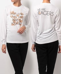 s.a.gear/エスエーギア/レディス/レディース長袖グラフィックTEE CAGERS/500479005