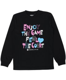 s.a.gear/エスエーギア/キッズ/ジュニア長袖グラフィックTEE ENJOY/500479012