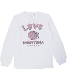 s.a.gear/エスエーギア/キッズ/ジュニア長袖グラフィックTEE LOVE/500479017