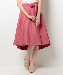 Noela/スエードテールカットスカート/500479122