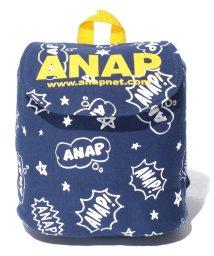 ANAP KIDS/バイカラー総柄ミニリュック/500471539