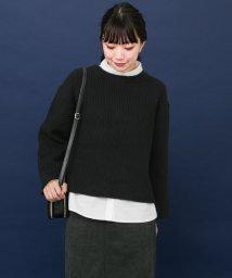 URBAN RESEARCH/【KBF+】前後2wayシャツセットニット/500474999