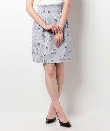 Noela/【CanCam11月号掲載/Ray11月号掲載】オリジナルフラワージャガードコクーンスカート/500479121