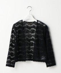 Ravissant Laviere/エンブロイダリーレース羽織り/500399604