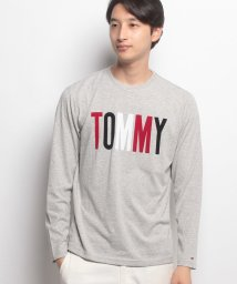 TOMMY JEANS/TOMMYロゴロングTシャツ/500466926