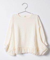b-ROOM/ニットソーフレアTシャツ/500470775