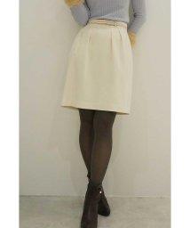 PROPORTION BODY DRESSING/ベルト付きウーリッシュフラノスカート/500472251