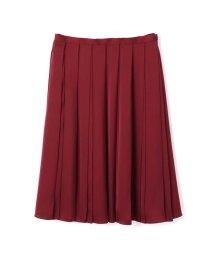 NATURAL BEAUTY LARGE/広幅プリーツサテンスカート/500480681