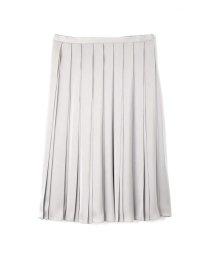 NATURAL BEAUTY LARGE/◆大きいサイズ◆プリーツスカート/500480964