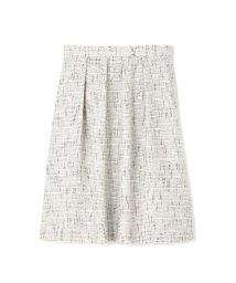 NATURAL BEAUTY LARGE/◆大きいサイズ◆ラメカラミツィードスカート/500480966