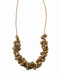 IENA/SEE REAL FLOWERS JUNGLE BELL ネックレス/500486727