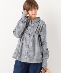 SLOBE IENA/ELAIDI チェックシャツ/500488099