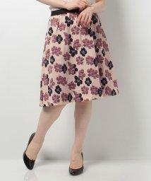 ELISA/フラワージャガードスカート/10258802N