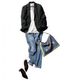 JIYU-KU /【定番】Sartiウールプレシャスジャージー ジャケット (検索番号Q16)/500490286
