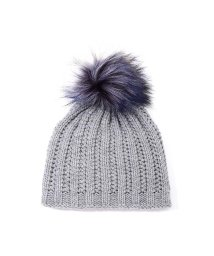 ROSE BUD COUPLES/ファーポンポンニット帽/500490433