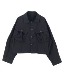 titivate/ミリタリーショートジャケット/500490737