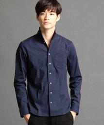 NICOLE CLUB FOR MEN/イタリアンカラーシャツ/500450571