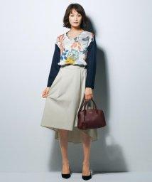 JIYU-KU /【マガジン掲載・洗える】フィッシュテールサテン スカート (検索番号R19)/500507369