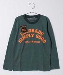 crocs(KIDS WEAR)/CROCSロゴ長袖Tシャツ/500475126