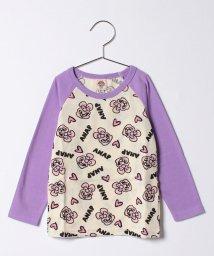 ANAP KIDS/ラグランキャラロングTシャツ/500483899